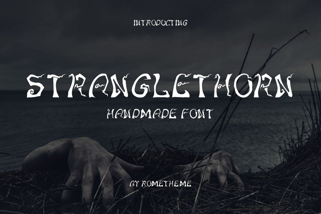 Tuercespina - Scary Halloween Font